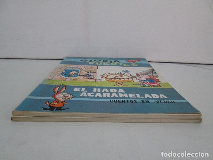 Libros de segunda mano: GLORIA FUERTES. EL HADA ACARAMELADA. EL LIBRO LOCO DE TODO UN POCO. EDITORIAL ESCUELA ESPAÑOLA - Foto 3 - 131165560