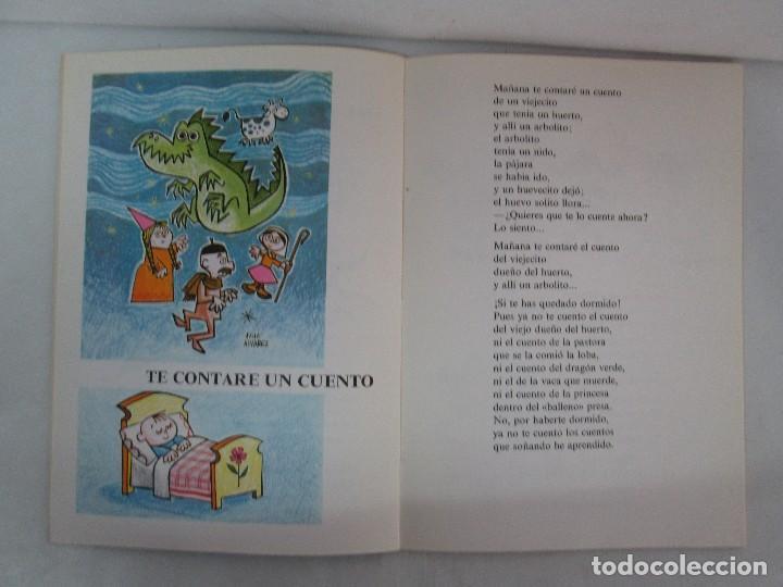 Libros de segunda mano: GLORIA FUERTES. EL HADA ACARAMELADA. EL LIBRO LOCO DE TODO UN POCO. EDITORIAL ESCUELA ESPAÑOLA - Foto 9 - 131165560