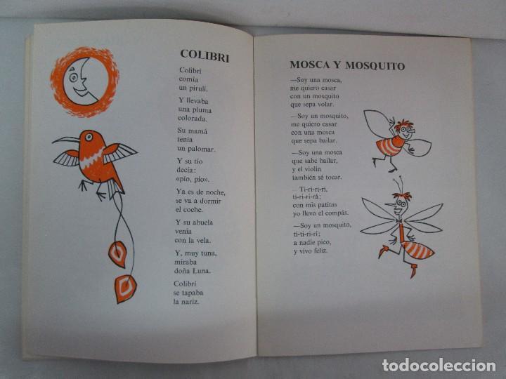 Libros de segunda mano: GLORIA FUERTES. EL HADA ACARAMELADA. EL LIBRO LOCO DE TODO UN POCO. EDITORIAL ESCUELA ESPAÑOLA - Foto 13 - 131165560
