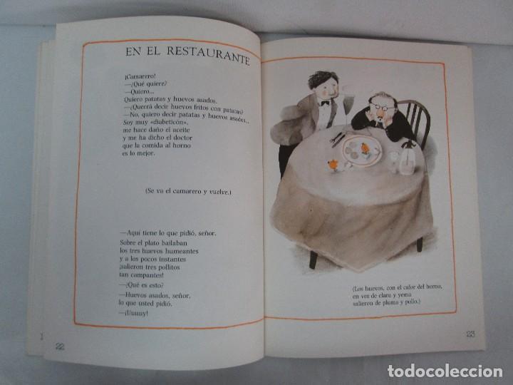 Libros de segunda mano: GLORIA FUERTES. EL HADA ACARAMELADA. EL LIBRO LOCO DE TODO UN POCO. EDITORIAL ESCUELA ESPAÑOLA - Foto 22 - 131165560