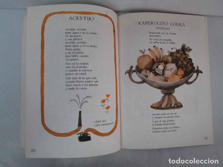 Libros de segunda mano: GLORIA FUERTES. EL HADA ACARAMELADA. EL LIBRO LOCO DE TODO UN POCO. EDITORIAL ESCUELA ESPAÑOLA - Foto 23 - 131165560