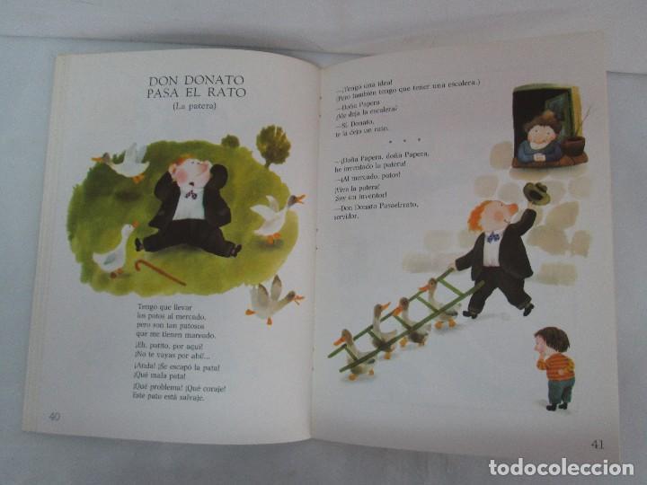 Libros de segunda mano: GLORIA FUERTES. EL HADA ACARAMELADA. EL LIBRO LOCO DE TODO UN POCO. EDITORIAL ESCUELA ESPAÑOLA - Foto 25 - 131165560