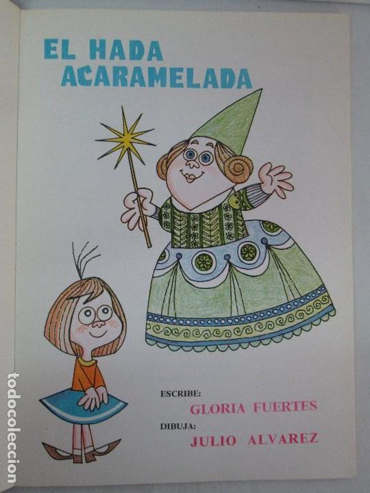 Libros de segunda mano: GLORIA FUERTES. EL HADA ACARAMELADA. EL LIBRO LOCO DE TODO UN POCO. EDITORIAL ESCUELA ESPAÑOLA - Foto 8 - 131165560