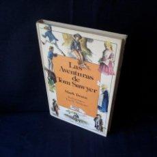 Libros de segunda mano: MARK TWAIN - LAS AVENTURAS DE TOM SAWYER - ILUSTRACIONES TRUE W. WILLIAMS - ANAYA 1ª EDICIÓN 1984. Lote 131415178