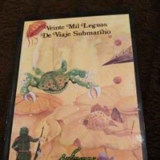 Libros de segunda mano: VEINTE MIL LEGUAS DE VIAJE SUBMARINO - SERIE CLASICOS - JULIO VERNE - DINTEL -DEPOSITO LEGAL 1982. Lote 131531982