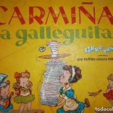 Libros de segunda mano: CARMIÑA LA GALLEGUITA ILUSTRADOR SABATES. Lote 131666198