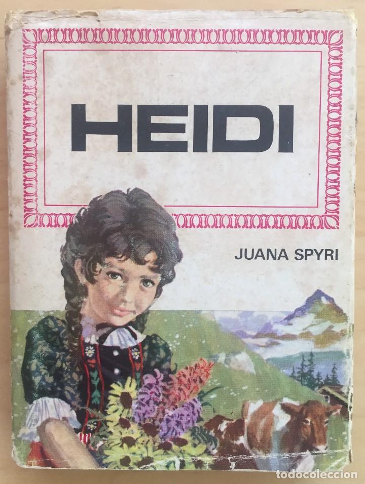HEIDI. JUANA SPYRI. EDITORIAL BRUGUERA EDIC.1975 (Libros de Segunda Mano - Literatura Infantil y Juvenil - Cuentos)