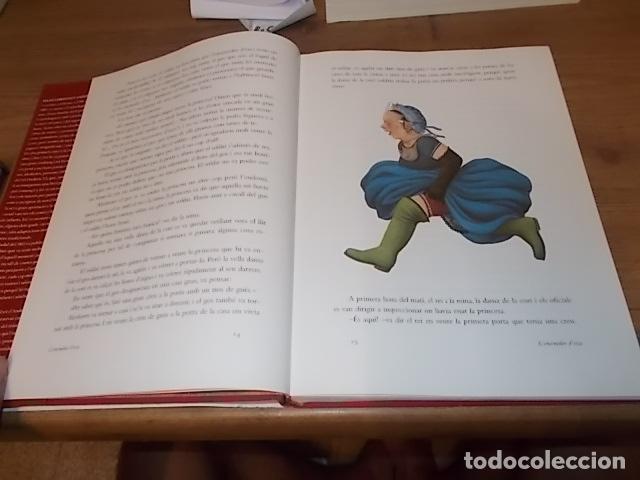 Libros de segunda mano: HANS CHRISTIAN ANDERSEN. CONTES .IL·LUSTRATS PER NIKOLAUS HEIDELBACH. GALÀXIA GUTENBERG . 2004. - Foto 7 - 132123758