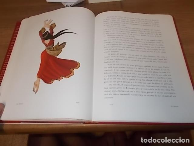 Libros de segunda mano: HANS CHRISTIAN ANDERSEN. CONTES .IL·LUSTRATS PER NIKOLAUS HEIDELBACH. GALÀXIA GUTENBERG . 2004. - Foto 16 - 132123758