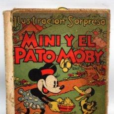 Libros de segunda mano: MINI Y EL PATO MOBY:ILUSTRACIÓN SORPRESA TROQUELADO.1934. Lote 132641626