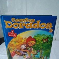 Libros de segunda mano: 106-CUENTOS DORADOS, 4 CUENTOS CLASICOS, MUY ILUSTRADO.. Lote 132767766