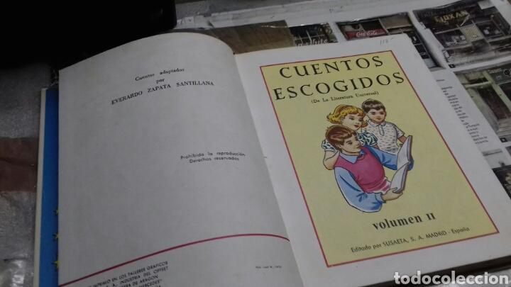 Libros de segunda mano: Cuentos escogidos II. Susaeta - Foto 3 - 132825459