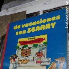 Libros de segunda mano: DE VACACIONES CON SCARRY.1978. Lote 132880627