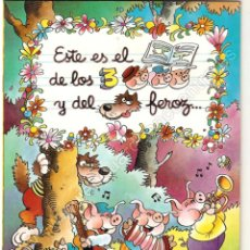 Libros de segunda mano: CUENTO DE LOS TRES CERDITOS, EDICIONES MP ILUSTRACIONES DE JAN, 1986 NUEVO.. Lote 177552925