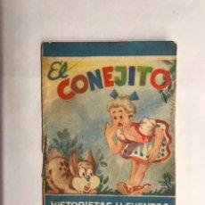 Libros de segunda mano: HISTORIETAS Y CUENTOS ENANO. SERIE A. NO.2 EL CONEJITO (H.1950?). Lote 133310897