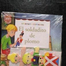 Libros de segunda mano: TEATRO Y CUENTOS 3 MARIONETAS PARA REPRESENTAR - EDICIONES FOLIO - EL SOLDADITO DE PLOMO. Lote 133467846