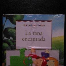 Libros de segunda mano: TEATRO Y CUENTOS 3 MARIONETAS PARA REPRESENTAR - EDICIONES FOLIO - LA RANA ENCANTADA. Lote 133467898