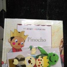 Libros de segunda mano: TEATRO Y CUENTOS 3 MARIONETAS PARA REPRESENTAR - EDICIONES FOLIO - PINOCHO. Lote 133468018
