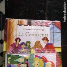 Libros de segunda mano: TEATRO Y CUENTOS 3 MARIONETAS PARA REPRESENTAR - EDICIONES FOLIO - LA CENICIENTA. Lote 133468154