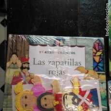 Libros de segunda mano: TEATRO Y CUENTOS 3 MARIONETAS PARA REPRESENTAR - EDICIONES FOLIO - LAS ZAPATILLAS ROJAS. Lote 133468458