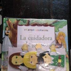 Libros de segunda mano: TEATRO Y CUENTOS 3 MARIONETAS PARA REPRESENTAR - EDICIONES FOLIO - LA CUIDADORA DE GANSOS. Lote 133468550