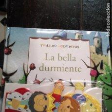 Libros de segunda mano: TEATRO Y CUENTOS 3 MARIONETAS PARA REPRESENTAR - EDICIONES FOLIO - LA BELLA DURMIENTE. Lote 133468698