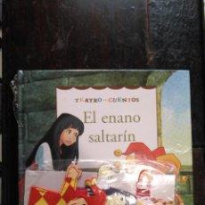 Libros de segunda mano: TEATRO Y CUENTOS 3 MARIONETAS PARA REPRESENTAR - EDICIONES FOLIO - EL ENANO SALTARIN. Lote 133468754