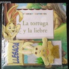 Libros de segunda mano: TEATRO Y CUENTOS 3 MARIONETAS PARA REPRESENTAR - EDICIONES FOLIO - LA TORTUGA Y LA LIEBRE. Lote 133468926