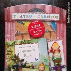 Libros de segunda mano: TEATRO Y CUENTOS 3 MARIONETAS PARA REPRESENTAR - EDICIONES FOLIO - CAPERUCITA ROJA + TEATRO. Lote 133469270