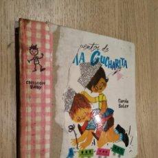 Libros de segunda mano: MÁS CUENTOS DE MAMA CUCHARITA. CAROLA SOLER. 1962. CID. Lote 133592202