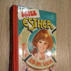 Libros de segunda mano: SUPER ESTHER. Nº 1. ESTA ES MI VIDA. BRUGUERA. 1ª EDICIÓN. 1982. Lote 133592614