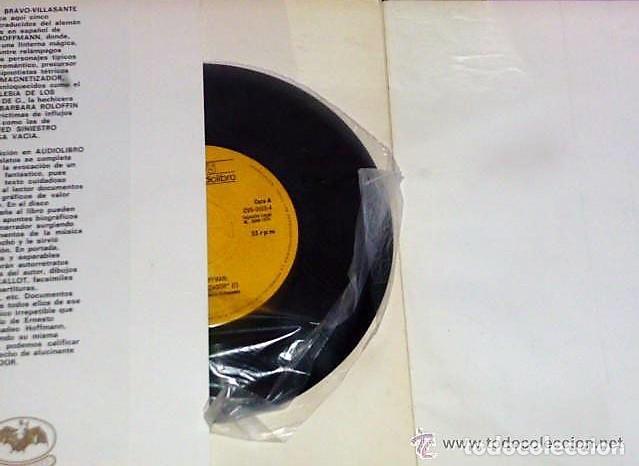 Libros de segunda mano: EL MAGNETIZADOR (LIBRO + DISCO DE VINILO DE 33 R P M) - Foto 2 - 133781082
