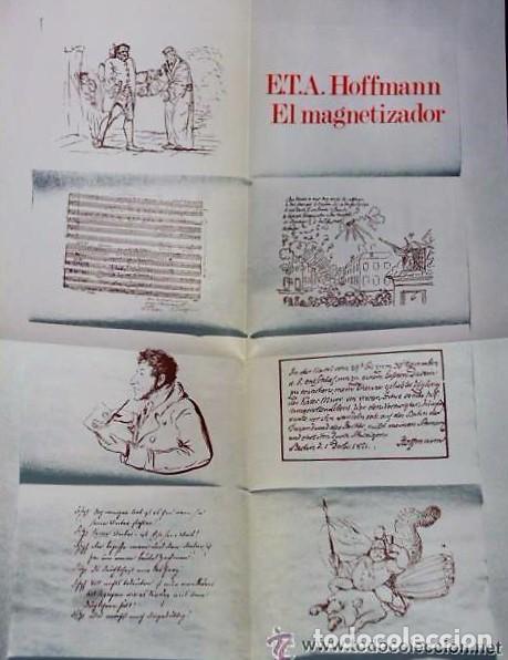 Libros de segunda mano: EL MAGNETIZADOR (LIBRO + DISCO DE VINILO DE 33 R P M) - Foto 3 - 133781082