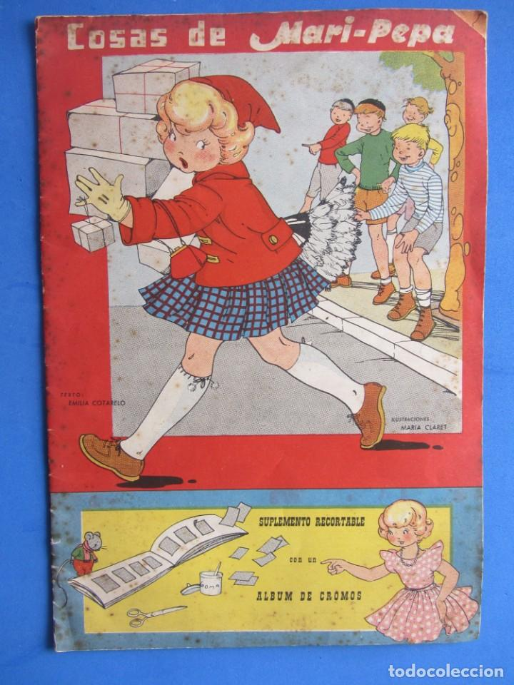 COSAS DE MARI-PEPA ILSTRACIONES MARÍA CLARET. I.G. VALVERDE S.A. SAN SEBASTIÁN. 1956 (Libros de Segunda Mano - Literatura Infantil y Juvenil - Cuentos)