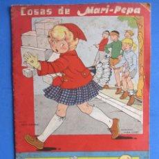 Libros de segunda mano: COSAS DE MARI-PEPA ILSTRACIONES MARÍA CLARET. I.G. VALVERDE S.A. SAN SEBASTIÁN. 1956. Lote 133838802