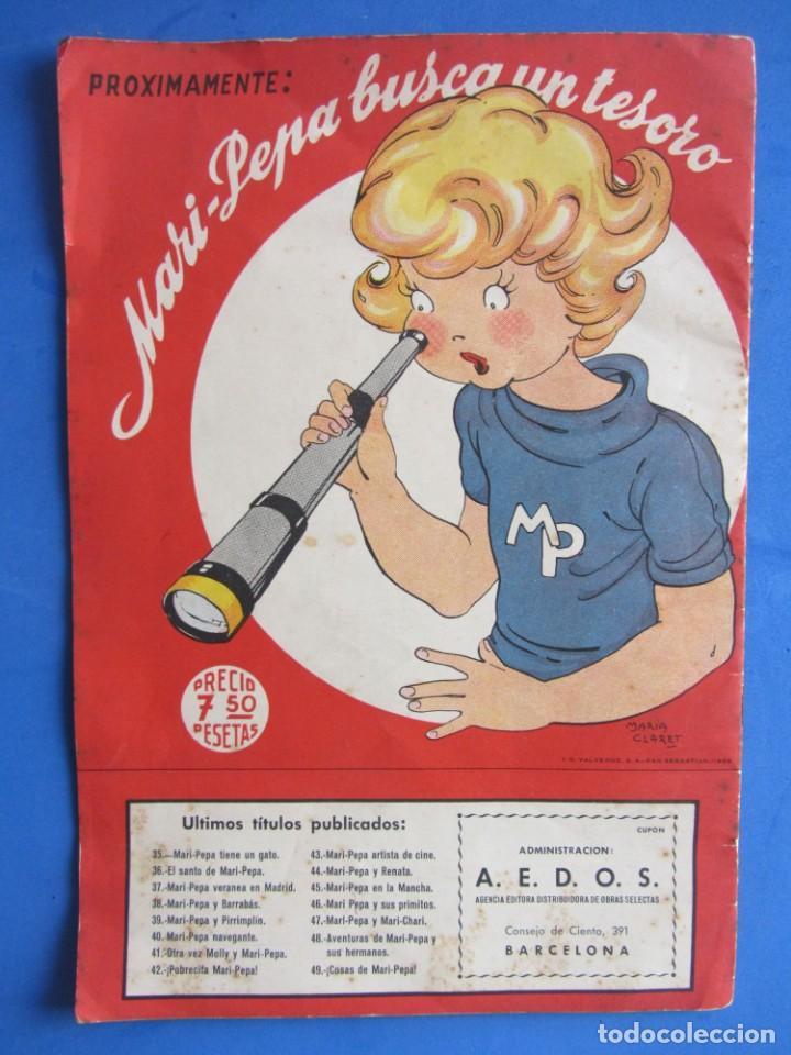Libros de segunda mano: Cosas de Mari-Pepa Ilstraciones María Claret. I.G. Valverde S.A. San Sebastián. 1956 - Foto 2 - 133838802