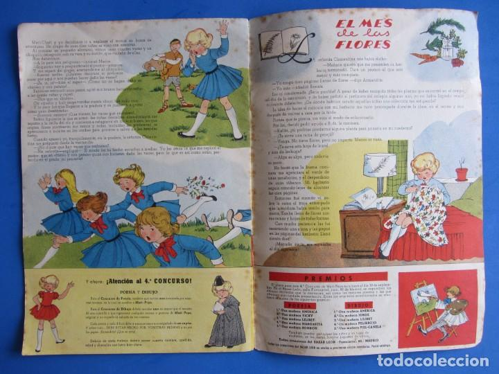 Libros de segunda mano: Cosas de Mari-Pepa Ilstraciones María Claret. I.G. Valverde S.A. San Sebastián. 1956 - Foto 7 - 133838802