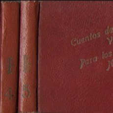 Libros de segunda mano: CUENTOS PARA NIÑOS DE CONSTANCIO VIGIL. 60 CUENTOS EN 5 VOLÚMENES. 13X15 CM. BS AS : ATLÁNTIDA, 194?. Lote 133993146