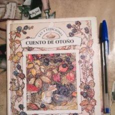 Libros de segunda mano: CUENTO DE OTOÑO. LAS CUATRO ESTACIONES Nº 3 - JILL BARKLEM. Lote 135220150