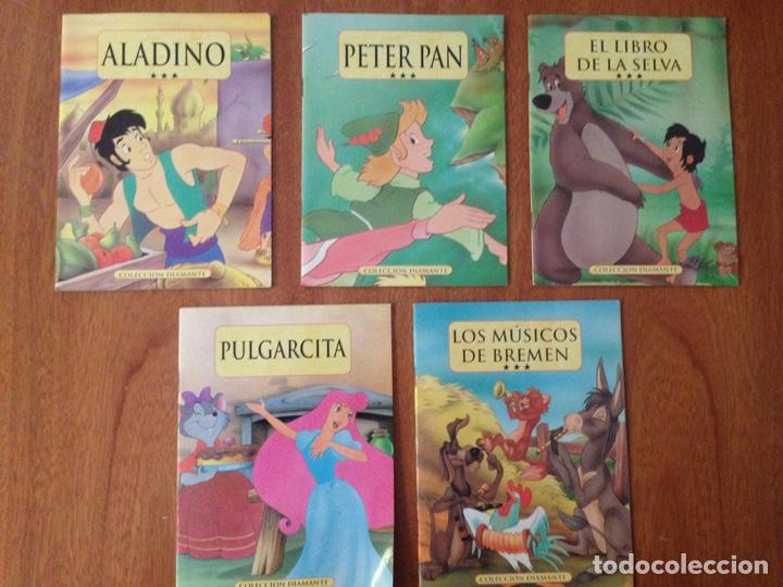 5 LOTES DE COLECCIÓN DIAMANTES (Libros de Segunda Mano - Literatura Infantil y Juvenil - Cuentos)