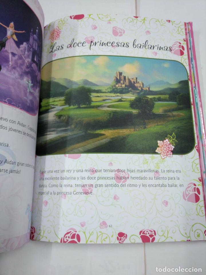 Libros de segunda mano: BARBIE. DIEZ CUENTOS DE PRINCESAS. MARIE FRANCOISE PERAT. TDK299 - Foto 2 - 135360538