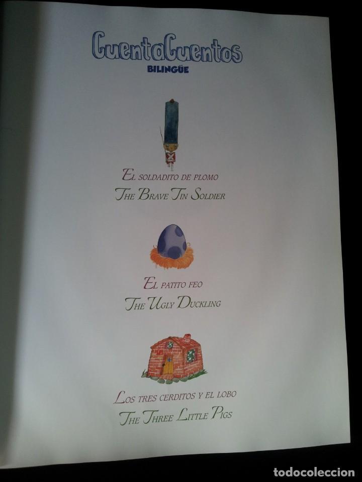 Libros de segunda mano: COLECCIÓN CUENTA CUENTOS BILINGÜE (OBRA COMPLETA DE 12 VOLUMENES) (ESPAÑOL-INGLES): SIGNO EDITORES - Foto 5 - 135651591