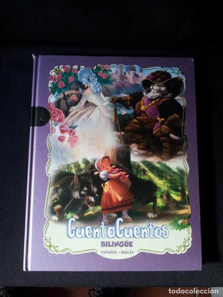 Libros de segunda mano: COLECCIÓN CUENTA CUENTOS BILINGÜE (OBRA COMPLETA DE 12 VOLUMENES) (ESPAÑOL-INGLES): SIGNO EDITORES - Foto 9 - 135651591