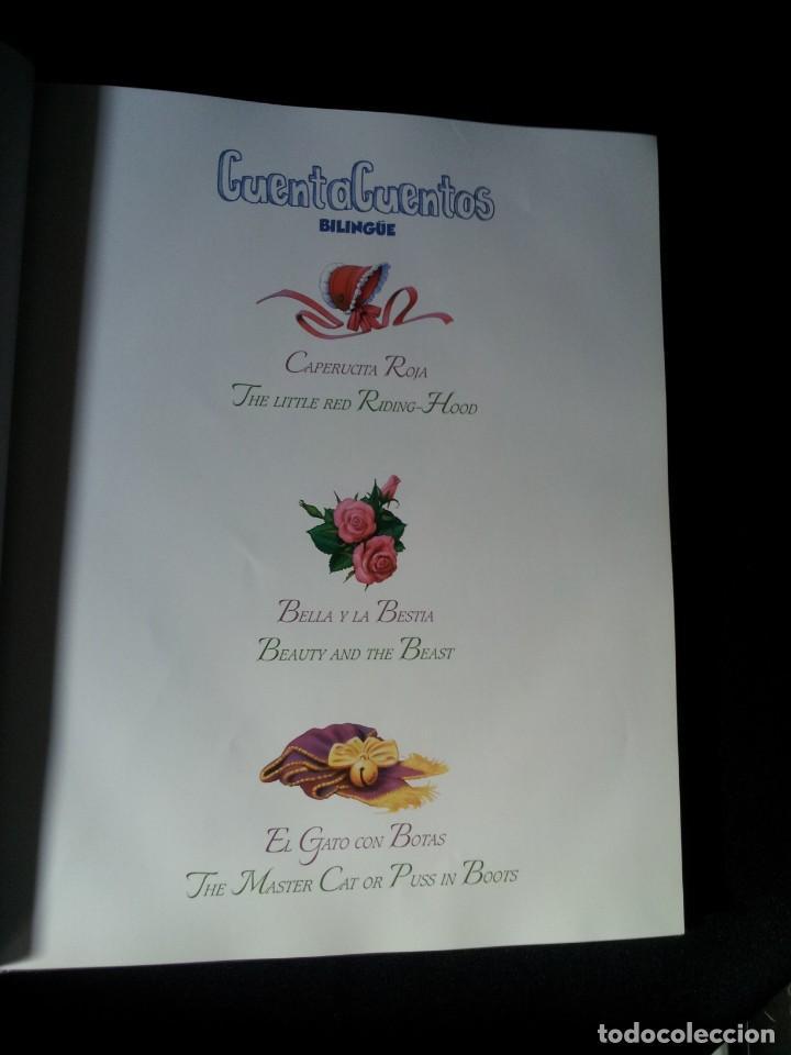 Libros de segunda mano: COLECCIÓN CUENTA CUENTOS BILINGÜE (OBRA COMPLETA DE 12 VOLUMENES) (ESPAÑOL-INGLES): SIGNO EDITORES - Foto 10 - 135651591