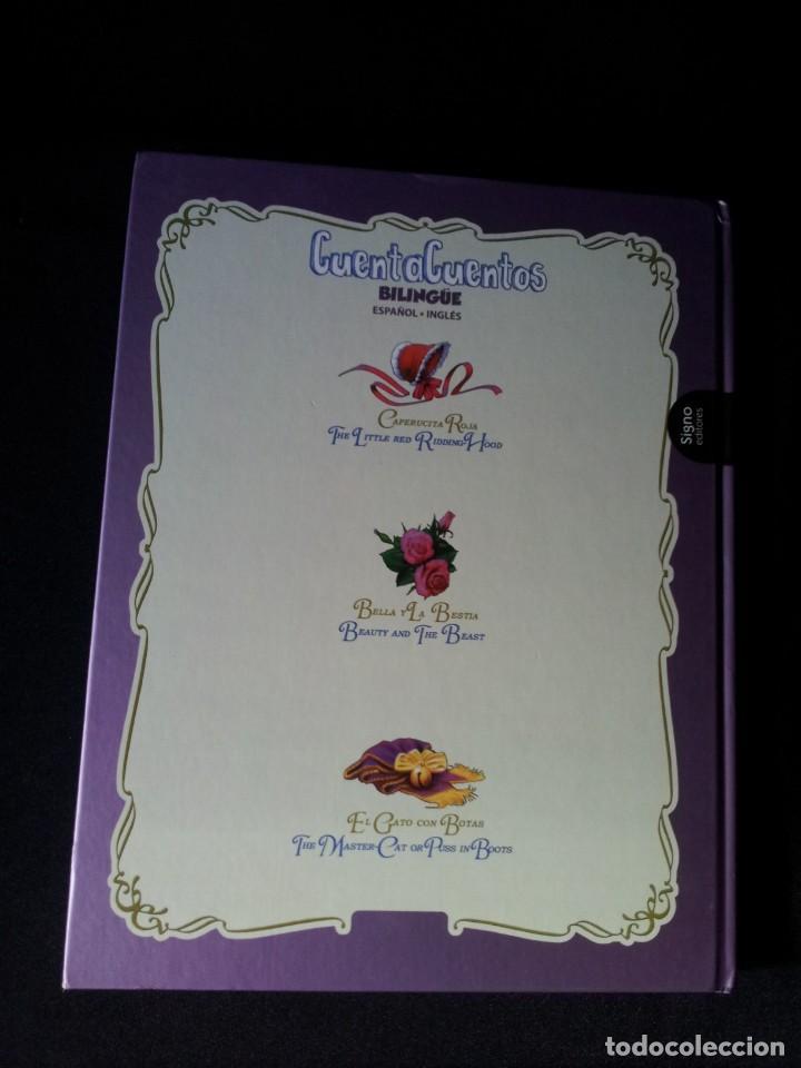 Libros de segunda mano: COLECCIÓN CUENTA CUENTOS BILINGÜE (OBRA COMPLETA DE 12 VOLUMENES) (ESPAÑOL-INGLES): SIGNO EDITORES - Foto 12 - 135651591