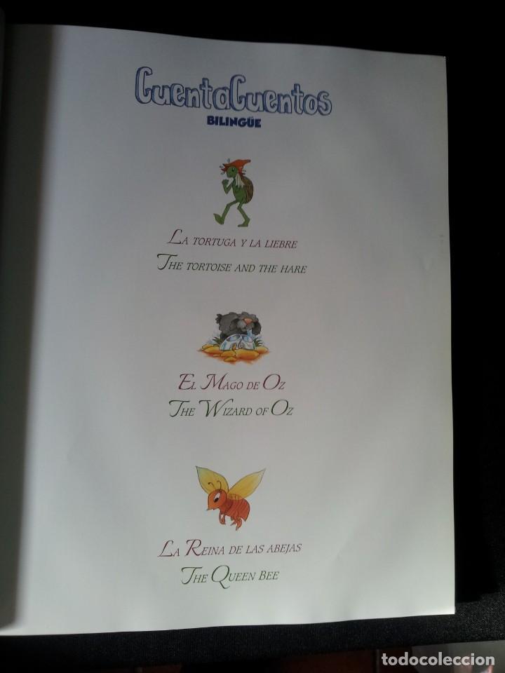 Libros de segunda mano: COLECCIÓN CUENTA CUENTOS BILINGÜE (OBRA COMPLETA DE 12 VOLUMENES) (ESPAÑOL-INGLES): SIGNO EDITORES - Foto 16 - 135651591