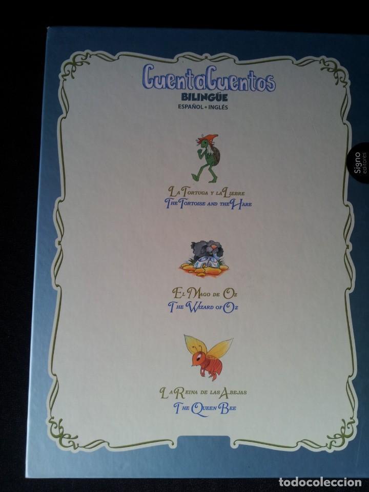 Libros de segunda mano: COLECCIÓN CUENTA CUENTOS BILINGÜE (OBRA COMPLETA DE 12 VOLUMENES) (ESPAÑOL-INGLES): SIGNO EDITORES - Foto 18 - 135651591