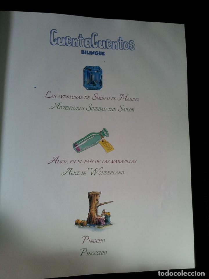 Libros de segunda mano: COLECCIÓN CUENTA CUENTOS BILINGÜE (OBRA COMPLETA DE 12 VOLUMENES) (ESPAÑOL-INGLES): SIGNO EDITORES - Foto 21 - 135651591