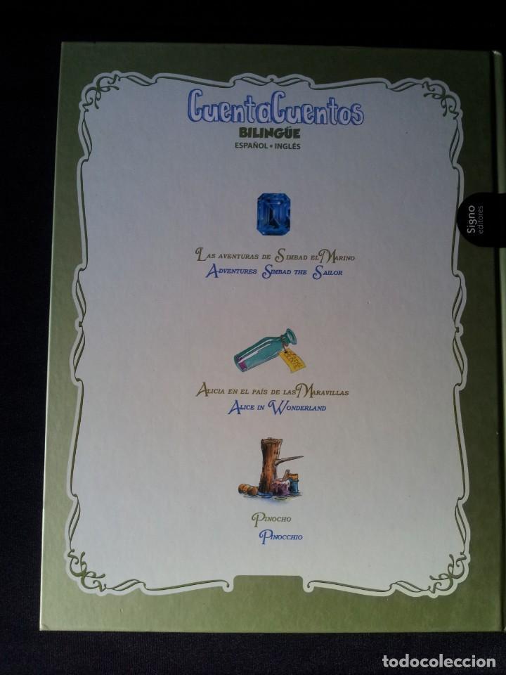 Libros de segunda mano: COLECCIÓN CUENTA CUENTOS BILINGÜE (OBRA COMPLETA DE 12 VOLUMENES) (ESPAÑOL-INGLES): SIGNO EDITORES - Foto 23 - 135651591