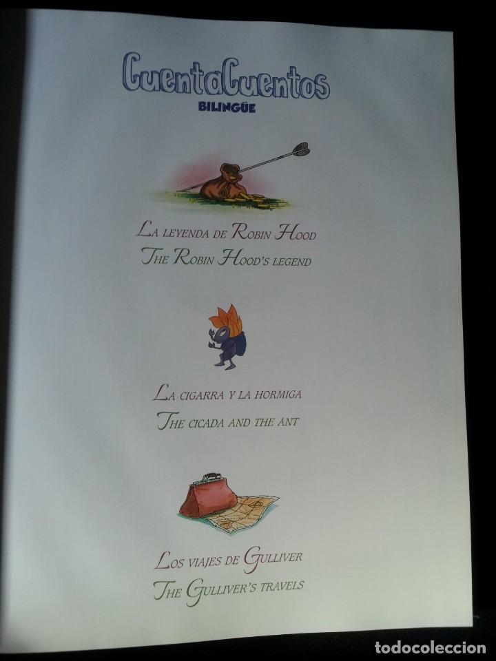 Libros de segunda mano: COLECCIÓN CUENTA CUENTOS BILINGÜE (OBRA COMPLETA DE 12 VOLUMENES) (ESPAÑOL-INGLES): SIGNO EDITORES - Foto 25 - 135651591